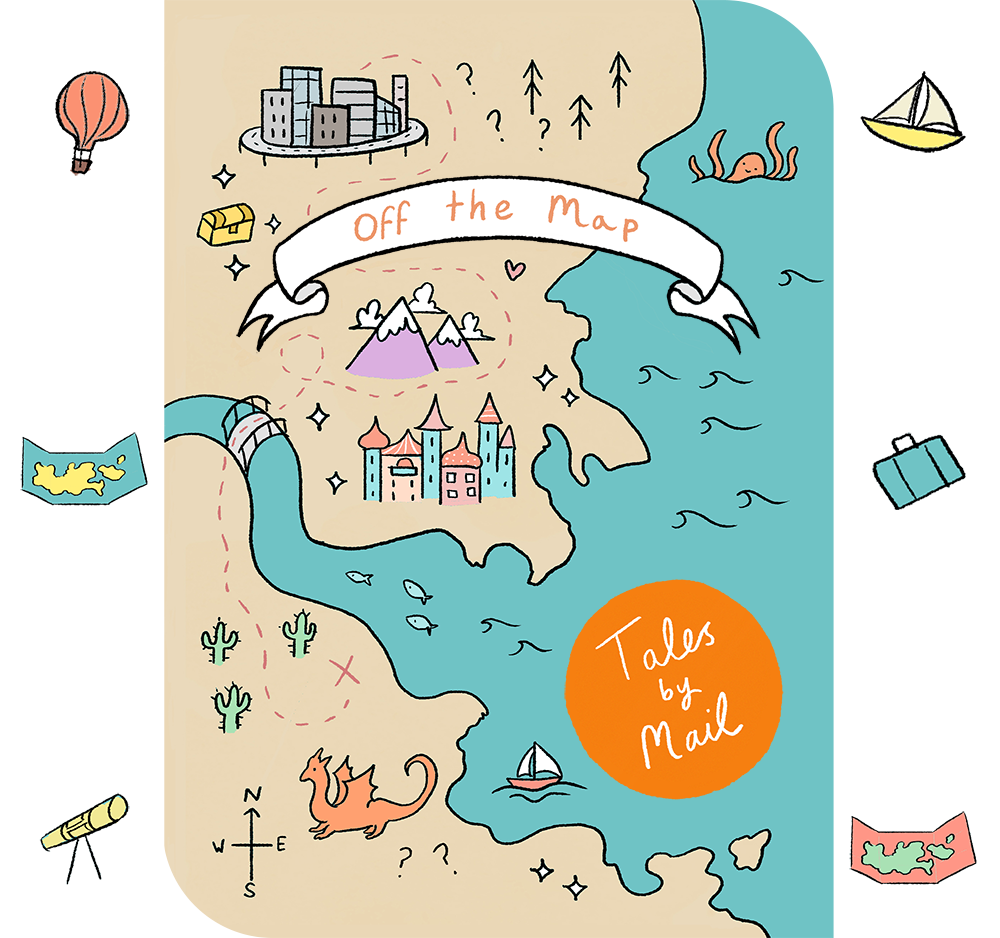 Off The Map website theme image