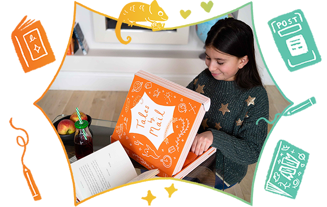 Step 2 Your Tales by Mail subscription box arrives