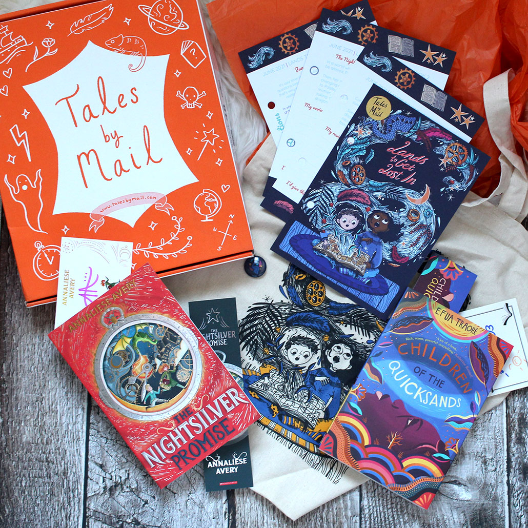 Tales by Mail Lands to Get Lost In Box Unboxing 2